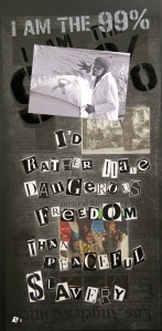October 1, 2011 I'd rather have dangerous freedom than peaceful slavery.