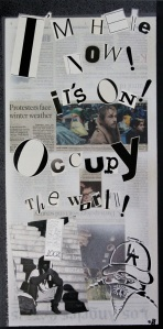 November 22, 2011 I'm here now! It's on! Occupy the world!